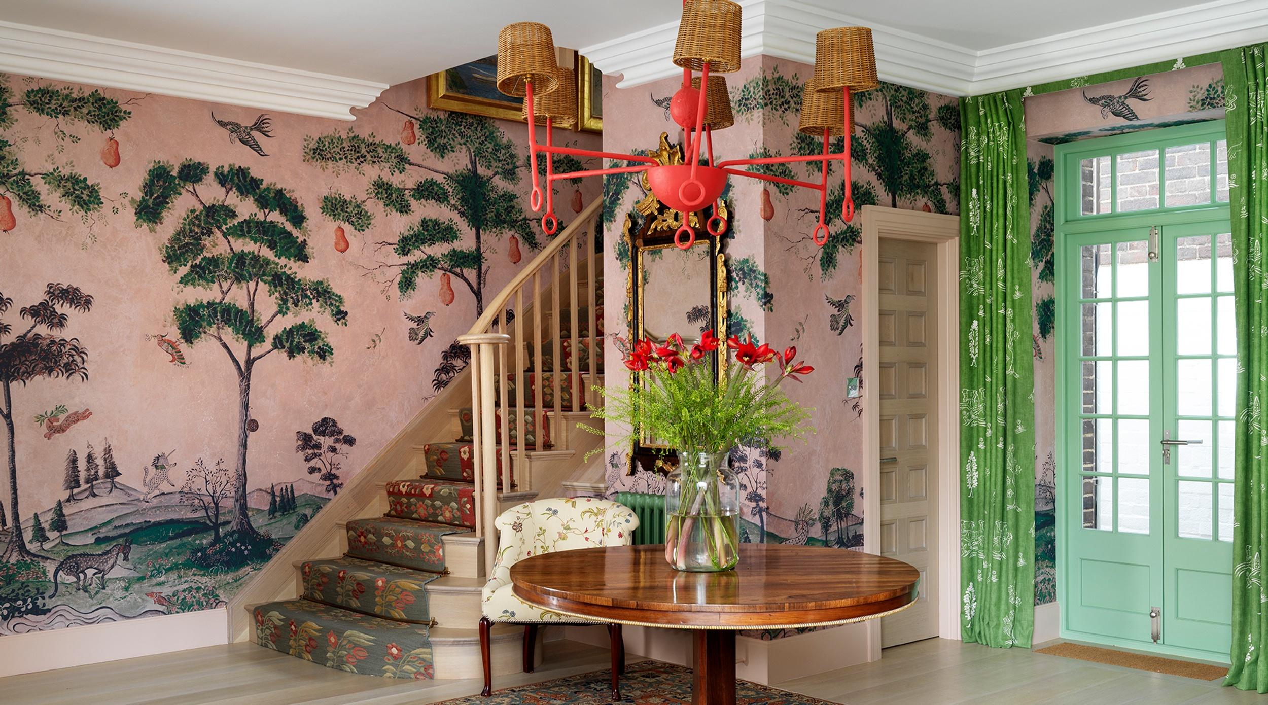 Kit Kemp London Home Hallway